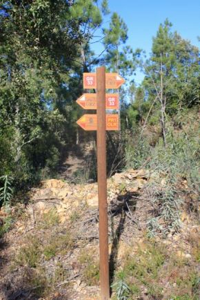 Route markers, PR1 Álvaro