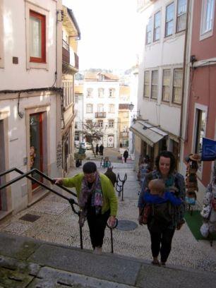 Backbreaker steps, Rua Quebra Costas, Coimbra