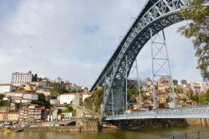 Ponte Luís I, Ribeira