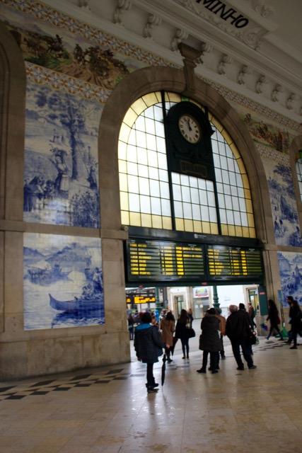 São Bento Train Station, Azulejos Tiles