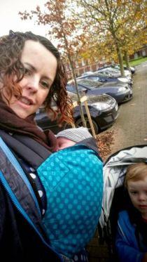 On the move with newborn Mayhem