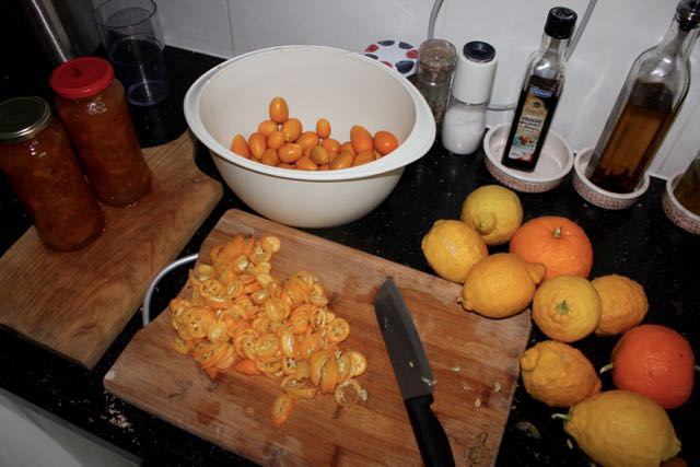 Kumquat jam & Seville orange marmalade