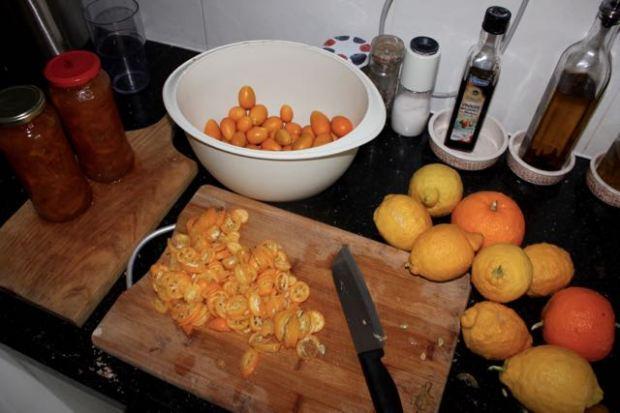 Kumquat jam & Seville orange marmalade