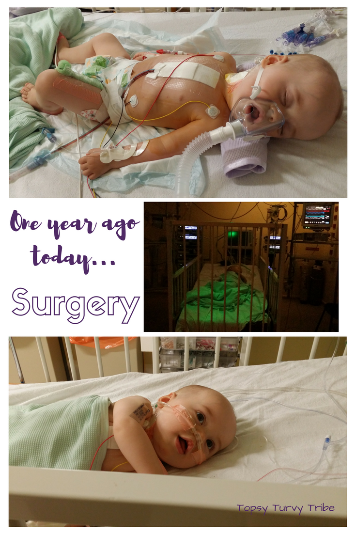 Surgery...One year ago today