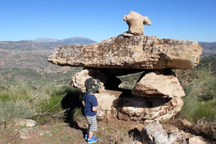 A Dolmen, with views towards the Granada province