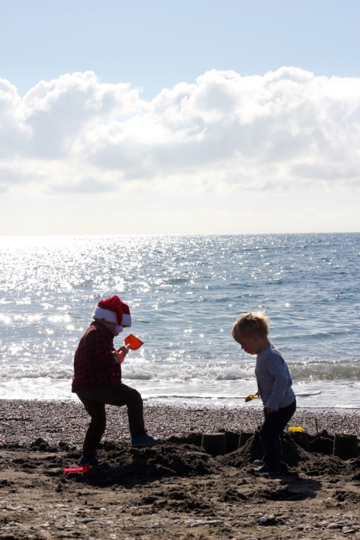 christmas-sandcastle-stomping