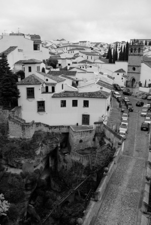 View towards Padre Jesus district, Ronda
