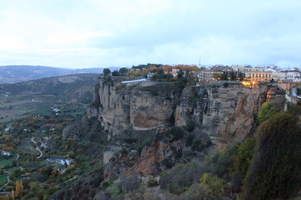 View towards Parador, Ronda