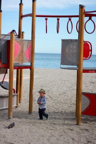 Burriana Beach, Nerja, Andalucia