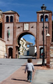 Entrance gate, Comares, Andalucia