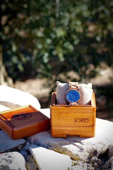JORD Olive and Acacia Wood Watch with Cedar Wood Presentation Box. Review by Topsy Turvy Tribe
