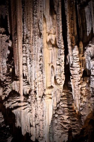 Rock formations, Nerja Caves, Cueva de Nerja