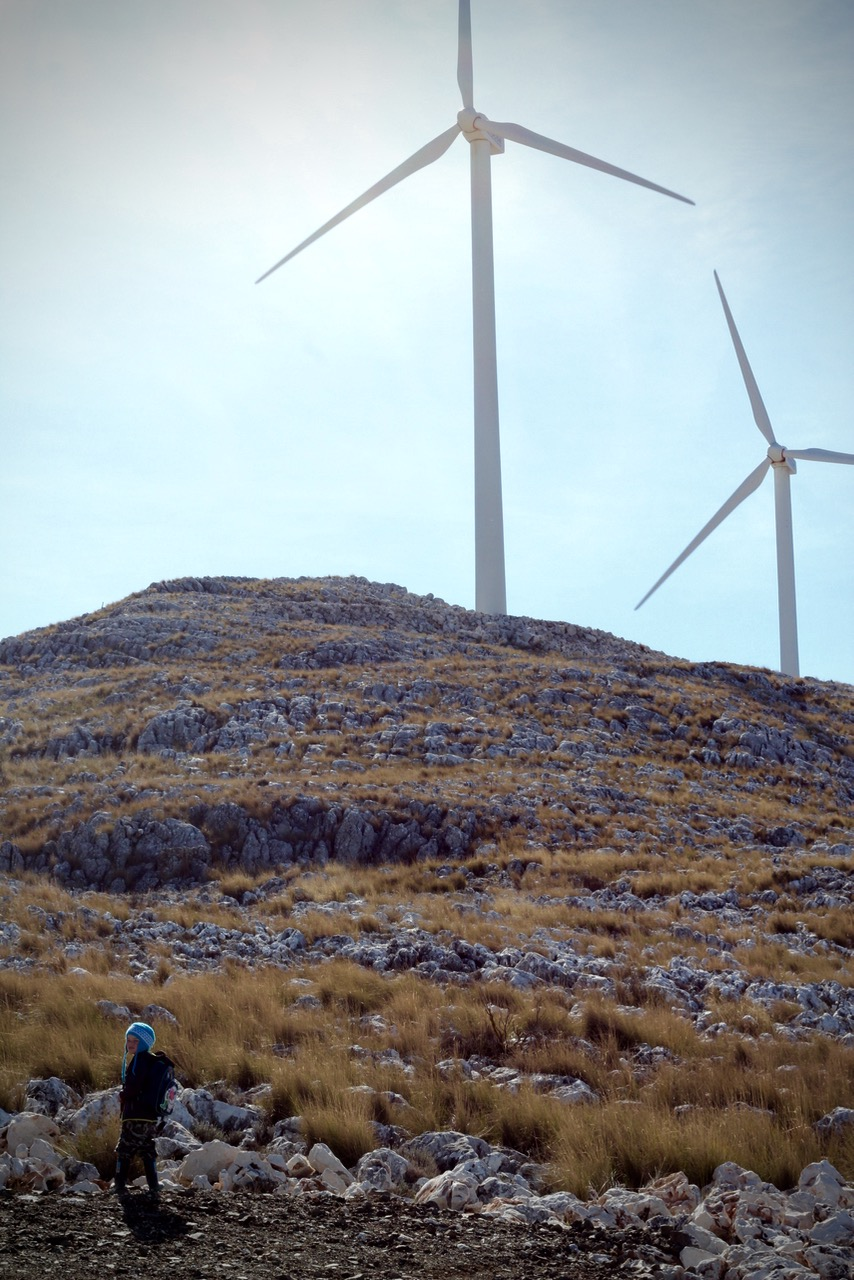 Sierra de Loja Parque Eclico Wind Farm, Granada, Andalucia, Spain