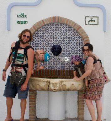 Topsy Turvy Tribe in Nerja, Malaga, Andalucia