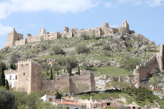 Arab Fortress Moclin Andalucia