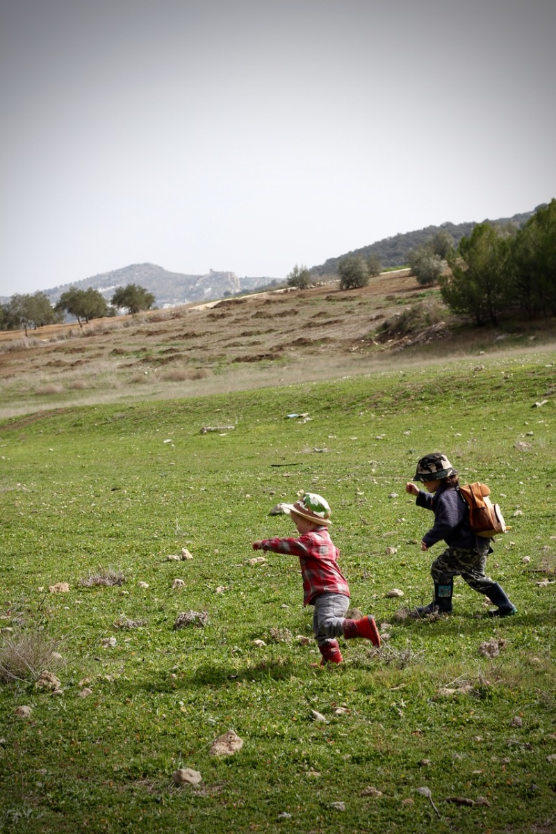 Boys Running by Topsy Turvy Tribe in Zagra, Granada, Andalucia, Spain