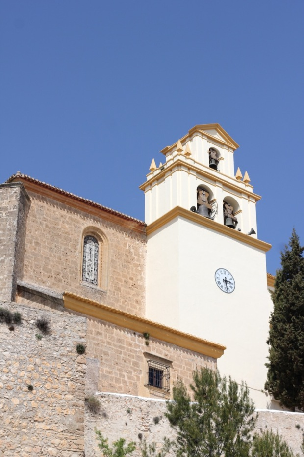 Church Moclin Andalucia