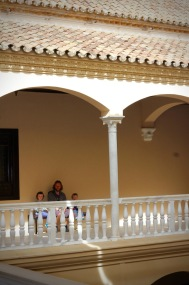 Courtyard Picasso Malaga Andalucia