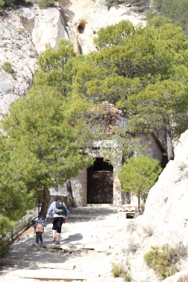 Ermita de las Angustias Ruta del Gollizno Moclin Andalucia