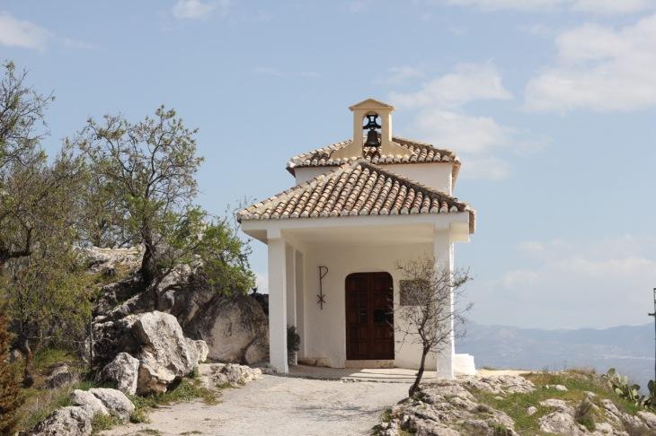 Ermita de San Anton Ruta del Gollizno Moclin