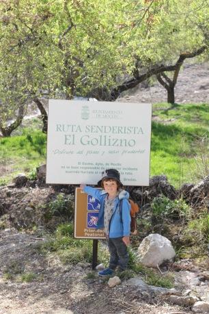 Leading the way Ruta del Gollizno Moclin Andalucia