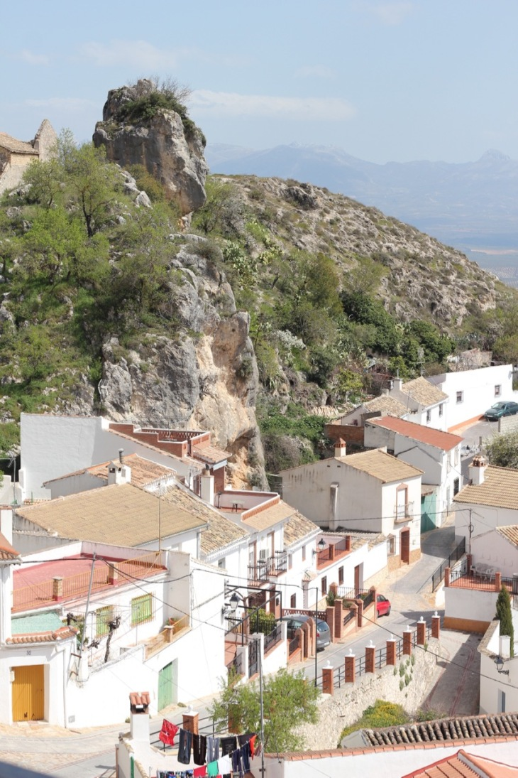 Moclin village Andalucia