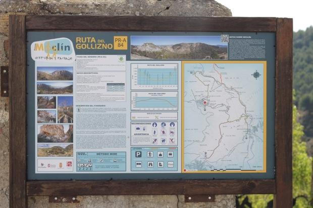 Ruta del Gollizno Moclin Andalucia