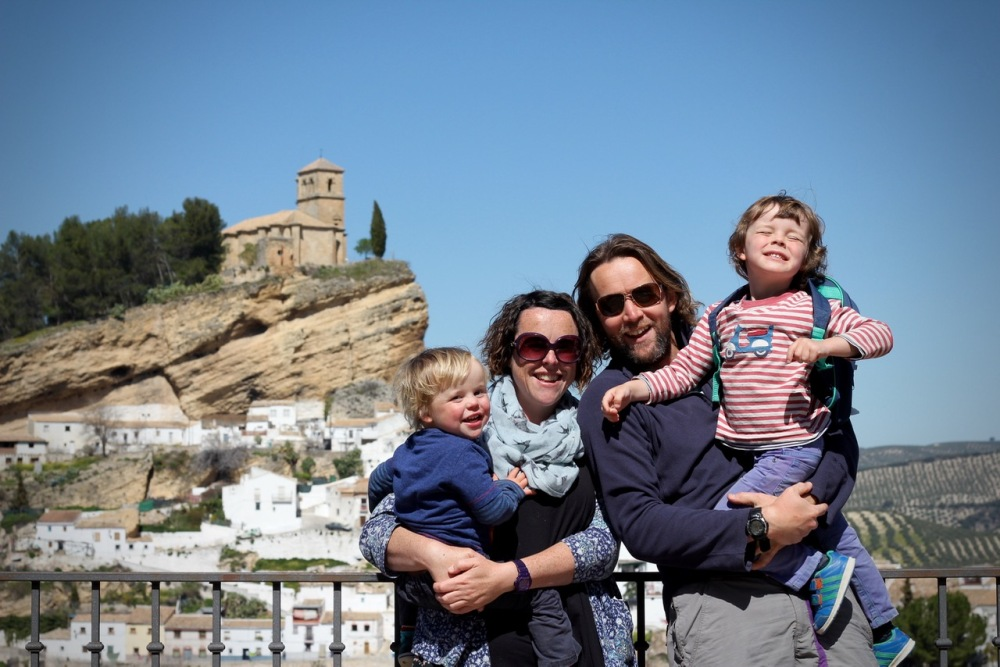 Topsy Turvy Tribe, a family day out in Montefrio, Granada, Andalucia, Spain