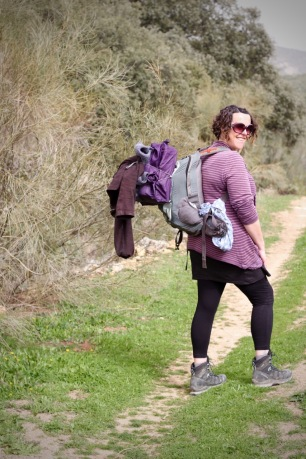 Walking & Hiking With Children Tips Mummy Carrying Way too Much Gear