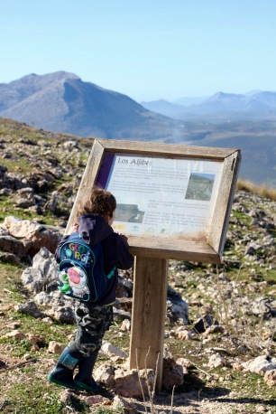 Walking & Hiking With Children Tips Involve them with reading the map and following the signs