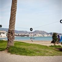 Zipline Malaga Beach Andalucia