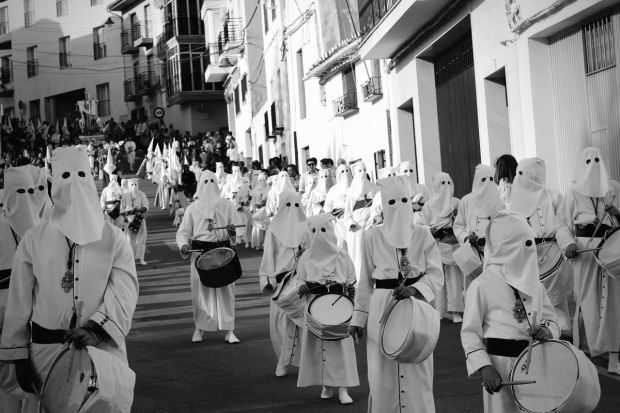 Brotherhood Band, Semana Santa in Loja Granada, Spain