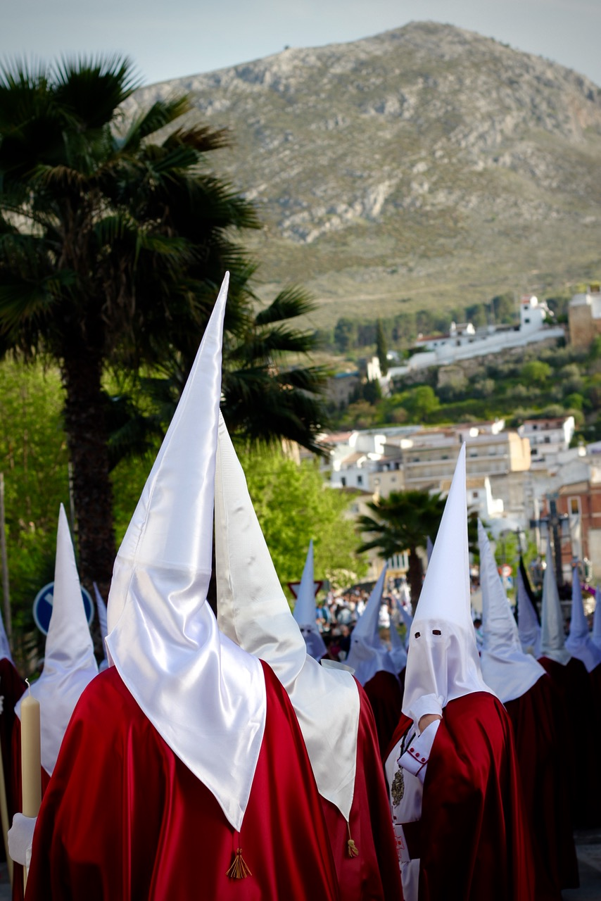 Brotherhood, Semana Santa in Loja Granada, Spain