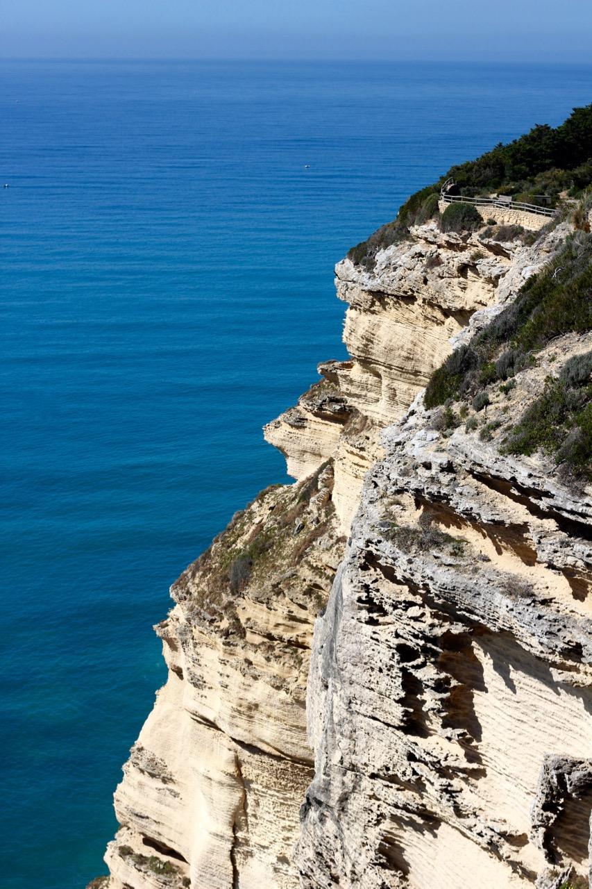 Cliffs, Parque Natural de la Brena y Marismas, Cadiz Province, Spain