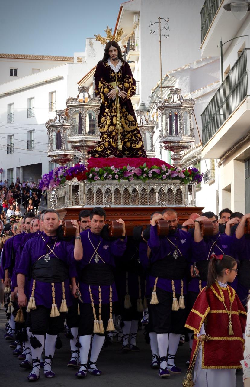 Semana Santa in Loja Granada, Spain