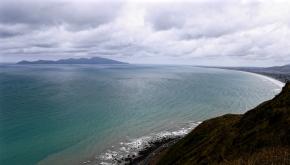 View towards Kapiti Island, North Island, New Zealand, TopsyTurvyTribe
